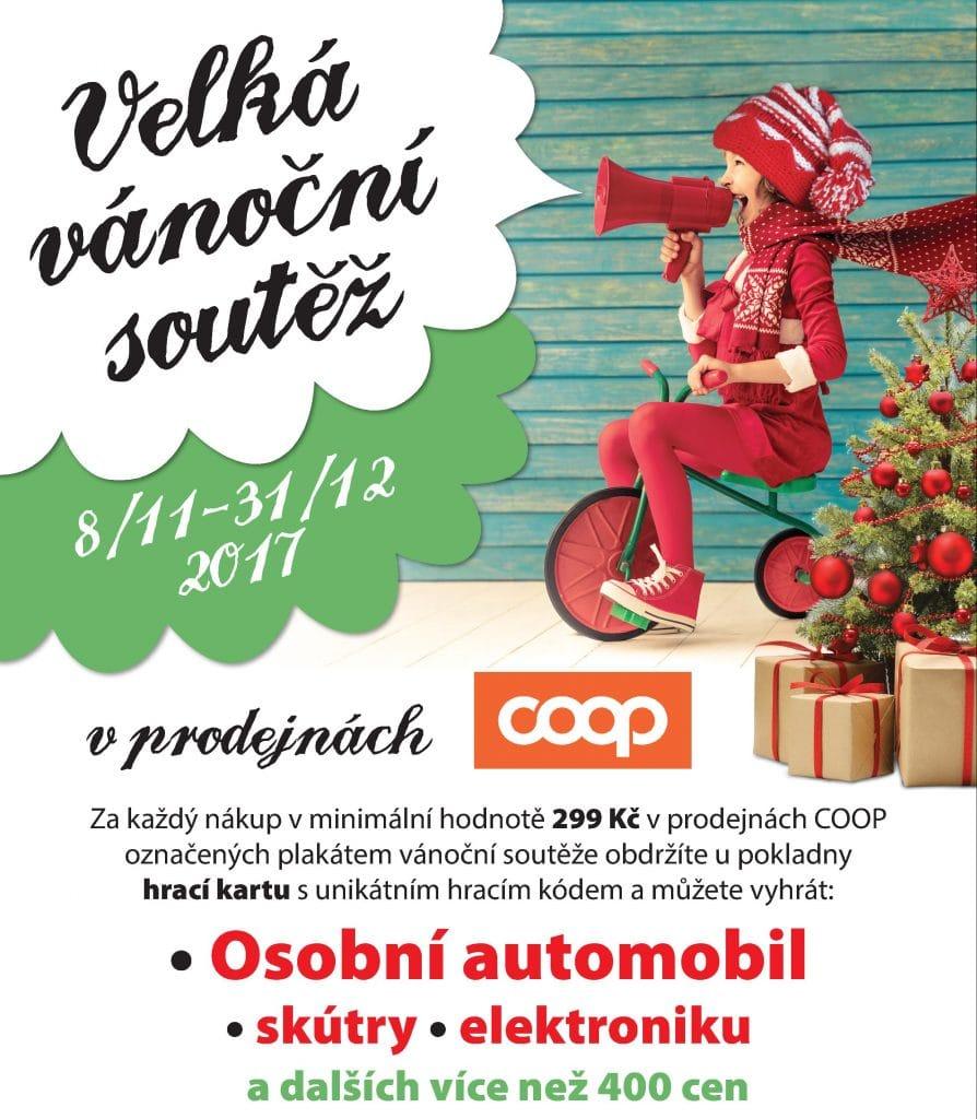 Grafika - plakát Vánoce 2017